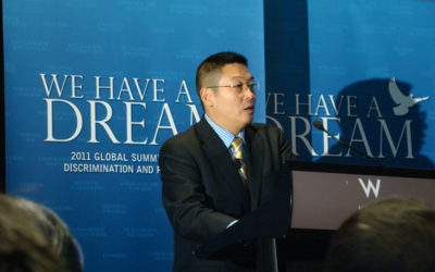 Speech at We Have a Dream: Global Summit against Discrimination and Persecution