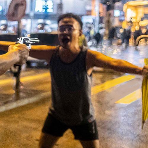 Hong Kong Tank Man - Anthony   香港坦克人-安东尼牧师